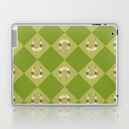 Gold horseshoe Laptop & iPad Skin