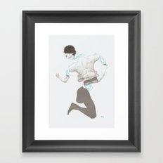 CIRCUITRY SURGERY 6 Framed Art Print