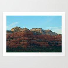 Sedona's Red Rocks II Art Print