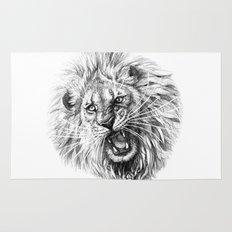 Lion roar G141 Rug