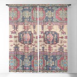 Shahsavan Moghan Southeast Caucasus Bag Face Sheer Curtain