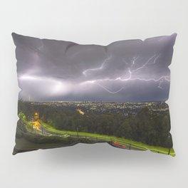 Summer Storm Over Brisbane Pillow Sham