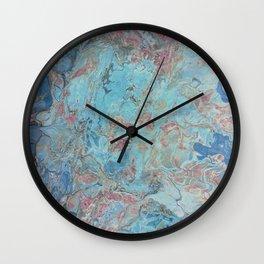 Planet Gracenerth Abstract Wall Clock