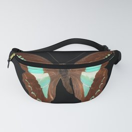 Butterfly - Graphium milon anthedon (Indonesia) Fanny Pack