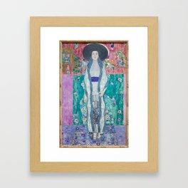 Gustav Klimt Adèle Bloch Bauer II (1912) Framed Art Print