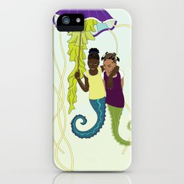 Aflan and Chaz iPhone Case
