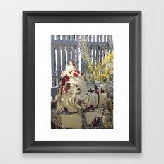 Fire Hydrant Framed Art Print