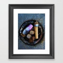 Classy Cigarettes Framed Art Print