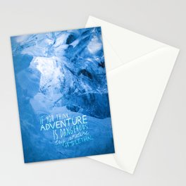 Routine is Lethal Stationery Cards