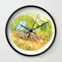 On the Road ! Wall Clock