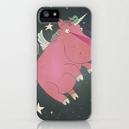 Super Horse... Unicorn Dreams. iPhone Case