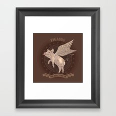 Pigasus Framed Art Print