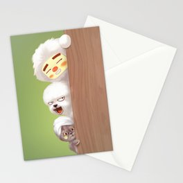 Peeking Stationery Cards