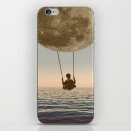 DREAM BIG/MOON CHILD SWING iPhone Skin