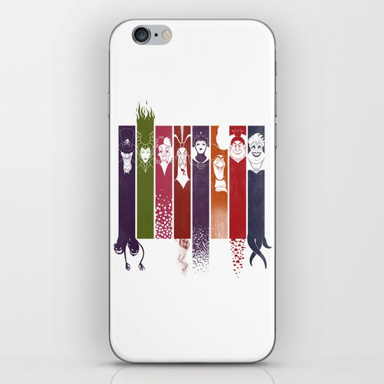 Disney Villains iPhone & iPod Skin