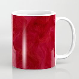 Regal Red Masquerade Ball Pattern Coffee Mug