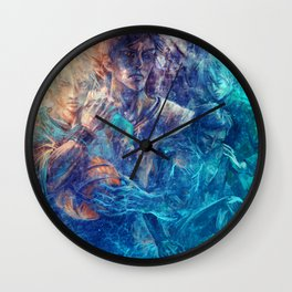 From oceans we rose Wall Clock