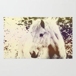 Colored Pony Rug
