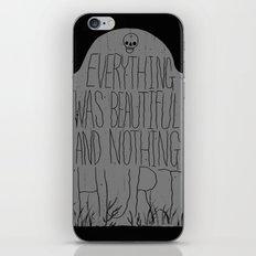 slaughterhouse V - everything was beautiful - vonnegut iPhone Skin