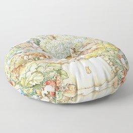 The World Of Beatrix Potter Floor Pillow