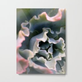 Ruffles Metal Print