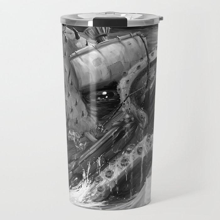 Kraken Open a Fresh One Travel Mug