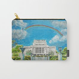 Laie Hawaii LDS Temple Carry-All Pouch