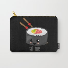 Eat Me in black Carry-All Pouch