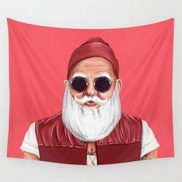 Hipstory -  Santa Claus Wall Tapestry