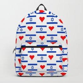 flag of israel 14-יִשְׂרָאֵל ,israeli,Herzl,Jerusalem,Hebrew,Judaism,jew,David,Salomon. Backpack