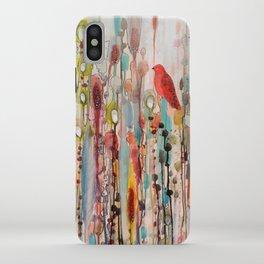 la vie comme un passage iPhone Case