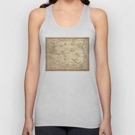 Map of Imirillia Unisex Tank Top
