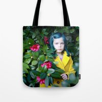 coraline Tote Bags featuring Coraline by Malice of Alice