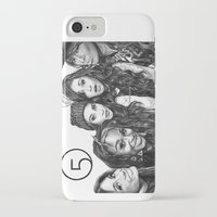 fifth harmony iPhone & iPod Cases featuring Fifth Harmony Group Drawing by Emilia Apreda