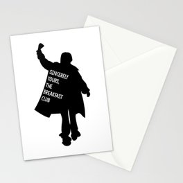 Sincerely Yours, The Breakfast Club Stationery Cards