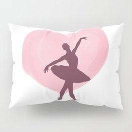 Ballet Dance Ballerina Dancing Passion Gift Pillow Sham