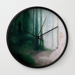 Light and Dark Wall Clock