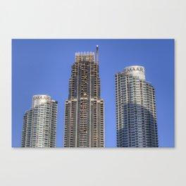 Emaar Properties Buildings Dubai Canvas Print