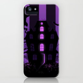 Be it ever so Haunted, there's no place like home. iPhone Case