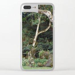 Waimea Valley Oahu Island  Hawaii Clear iPhone Case