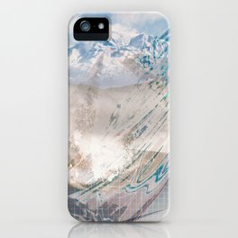 Mountain Love iPhone Case