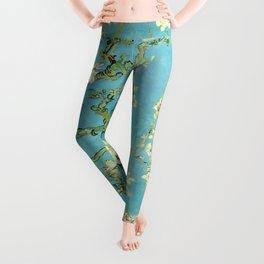 Vincent Van Gogh Almond Blossoms Leggings