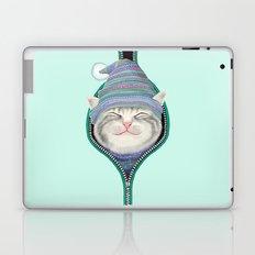 Cat in the zip Laptop & iPad Skin