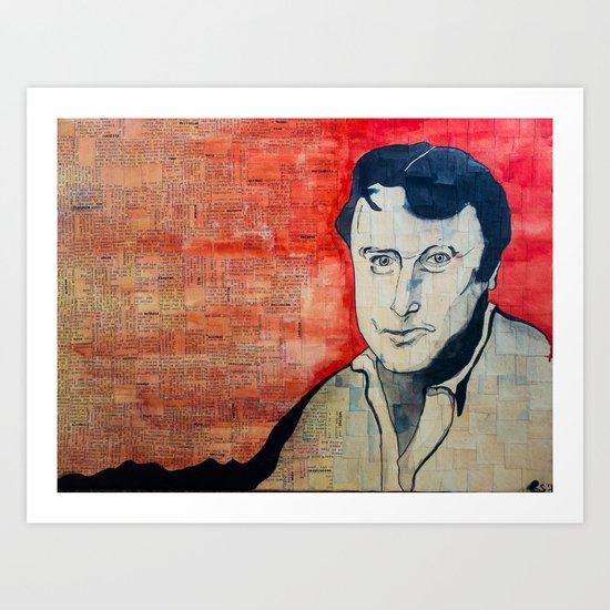 Hitchens  Art Print