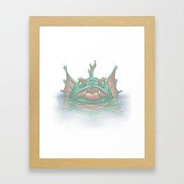 Zola Framed Art Print