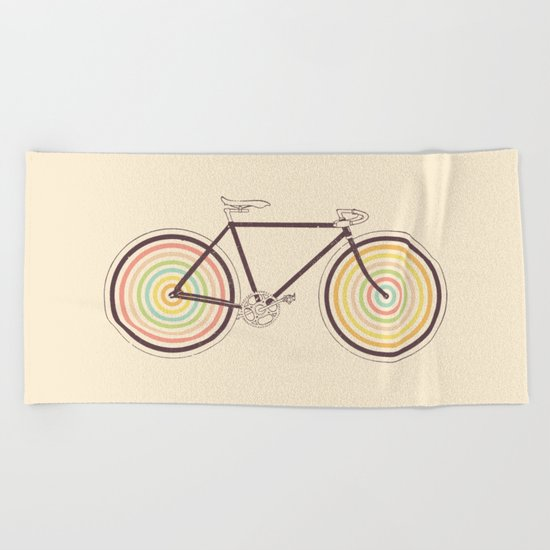 Velocolor Beach Towel
