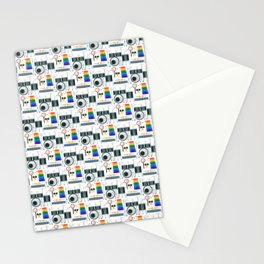 Drummer Pattern | Drums Musician Percussion Music Stationery Cards