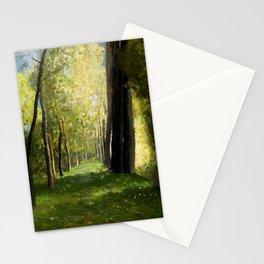 "Odilon Redon ""Lane of Trees"" Stationery Cards"