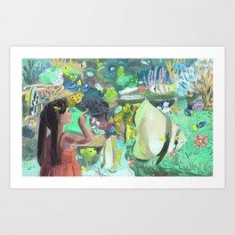 Wonders of the Aquarium Art Print