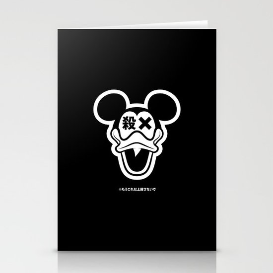 Mickey Duck Stationery Cards